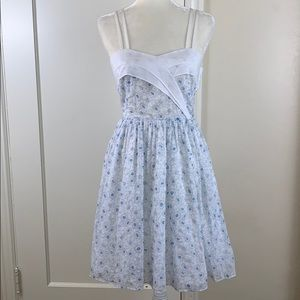 Girls from Savoy retro styled floral sundress